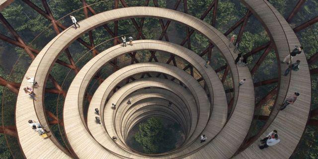 """""""Tårnet"""" heter attraktionen som ska locka turister till Sydsjälland nästa år. Pressbild"""
