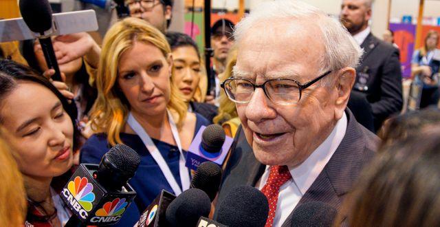 Warren Buffett. Nati Harnik / TT NYHETSBYRÅN