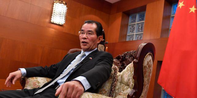 Gui Congyou. TT NEWS AGENCY / TT NYHETSBYRÅN