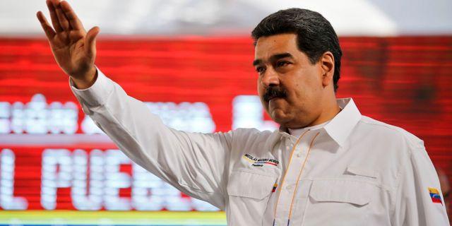 MARCELO GARCIA / Venezuelan Presidency
