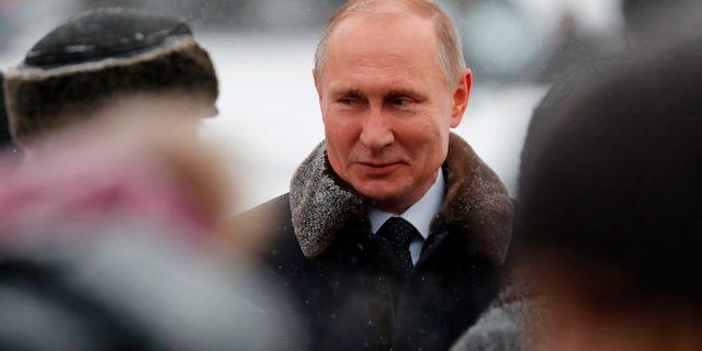 Rysslands president Vladimir Putin. ANATOLY MALTSEV / POOL