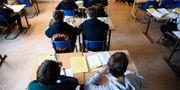 Ett klassrum på Rålambshovskolan i Stockholm Hossein Salmanzadeh / TT / TT NYHETSBYRÅN