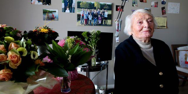 Yvette Lundy, arkivbild. FRANCOIS NASCIMBENI / AFP