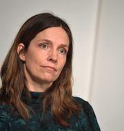 Sara Byfors.  Pontus Lundahl/TT / TT NYHETSBYRÅN