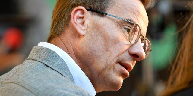 Ulf Kristersson, arkivbild. Henrik Montgomery/TT / TT NYHETSBYRÅN