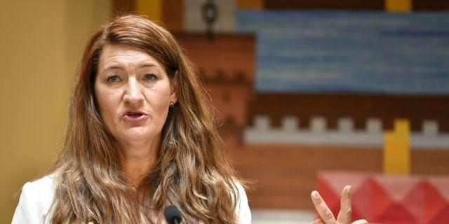 Susanna Gideonsson. Anders Wiklund/TT / TT NYHETSBYRÅN