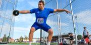 Daniel Ståhl vid SM-tävlingarna i Karlstad förra helgen. Anders Wiklund/TT / TT NYHETSBYRÅN
