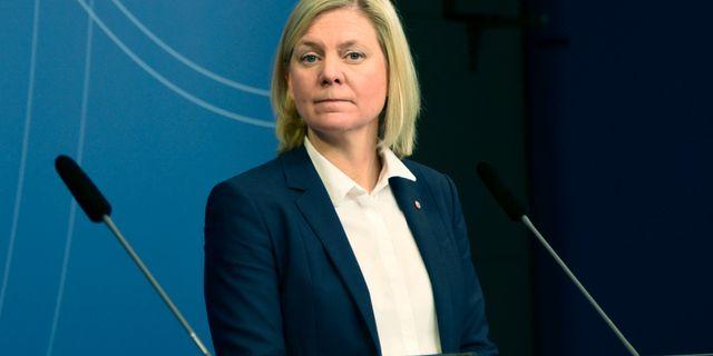 Arkivbild: Finansminister Andersson (S). Libertad Mancini/TT / TT NYHETSBYRÅN