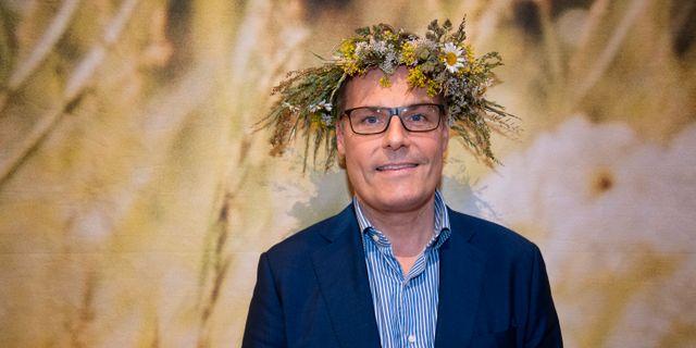 Ola Serneke inför Sommar i P1. Arkivbild. Jessica Gow/TT / TT NYHETSBYRÅN