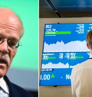 Stefan Ingves och Stockholmsbörsen. TT