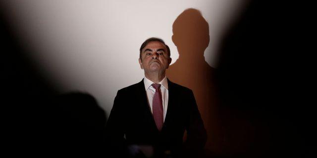 Tidigare Nissan-chefen Carlos Ghosn. Maya Alleruzzo / TT NYHETSBYRÅN