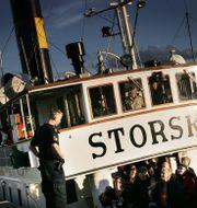 Waxholmsbåten Storskär. Stefan Bladh / SvD / TT / SvD