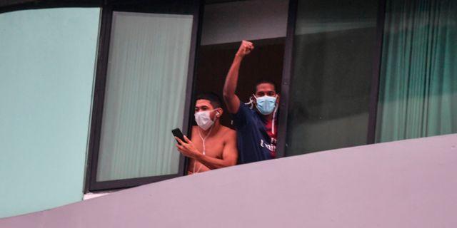 I Panama har hotell gjorts om till tillfälliga sjukhus i krisen. Illustrationsbild.  LUIS ACOSTA / TT NYHETSBYRÅN