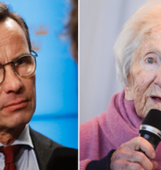 Ulf Kristersson/Hédi Fried. TT