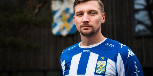 Sebastian Eriksson på Kamratgården idag. MATHIAS BERGELD / BILDBYR N