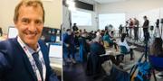 Christian Stichler / Pressträff på Folkhälsomyndigheten Privat/TT