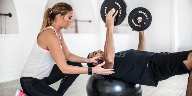 Anlita en personlig tränare som finns där vid din sida för att peppa och motivera dig när det känns trögt. Nordic Wellness