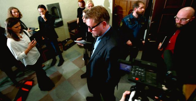 Fredrik Virtanen i Stockholms tingsrätt. Fredrik Persson/TT / TT NYHETSBYRÅN