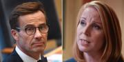 Kristersson och Lööf. TT