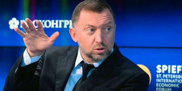 Arkivbild: Oleg Deripaska OLGA MALTSEVA / AFP