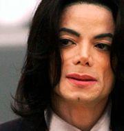 Michael Jackson 2005. Aaron Lambert / TT NYHETSBYRÅN