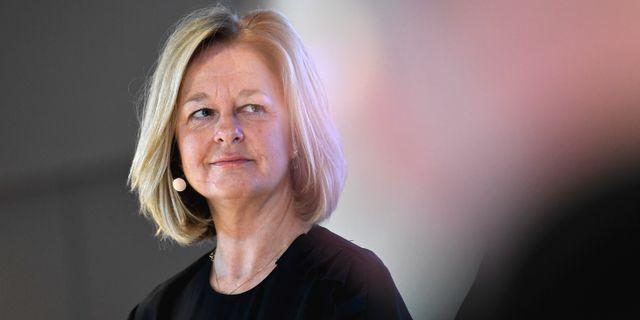 Allison Kirkby, Telias vd.  Janerik Henriksson/TT / TT NYHETSBYRÅN