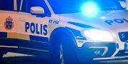 Polisbil.  Johan Nilsson/TT / TT NYHETSBYRÅN