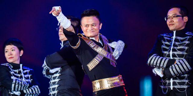 Jack Ma. Arkivbild. STR / AFP