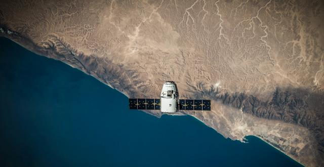 SpaceX-satellit Unsplash/SpaceX