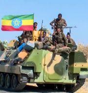 Etiopisk militär i Tigray TT NYHETSBYRÅN