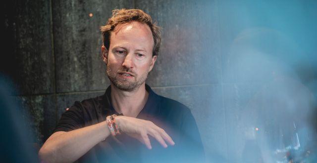 Christian Sinding, vd för EQT. Stian Lysberg Solum / TT NYHETSBYRÅN