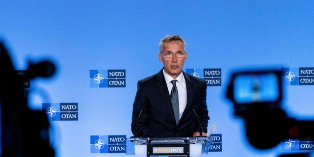 Jens Stoltenberg.  KENZO TRIBOUILLARD / AFP