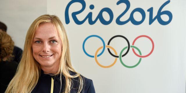 Sara Algotsson Ostholt.  Björn Lindgren/TT / TT NYHETSBYRÅN