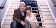 """Rolf Lassgård och Hedda Stiernstedt spelar två av huvudrollerna i filmen """"Min pappa Marianne"""".  Björn Larsson Rosvall/TT / TT NYHETSBYRÅN"""