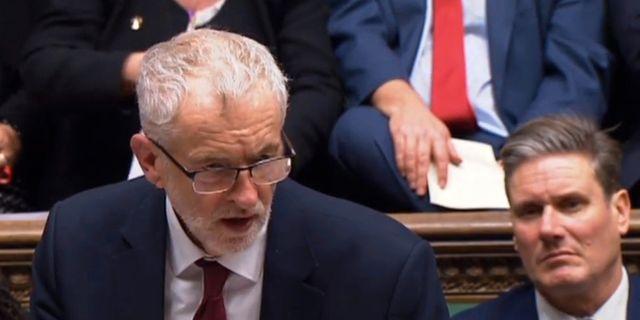 Jeremy Corbyn. Parliament TV / TT NYHETSBYRÅN