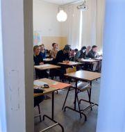 Högskoleprovet skrivs 2014 i Kungsholmens gymnasium i Stockholm. Bertil Enevåg Ericson / TT / TT NYHETSBYRÅN