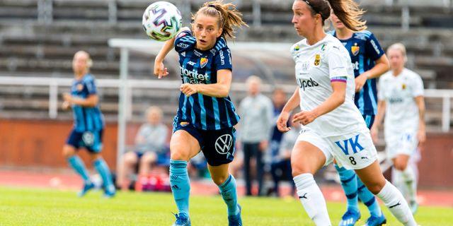Matchen mellan Umeå IK och Djurgården 4 juli/Arkivbild. Magnus Andersson/TT / TT NYHETSBYRÅN