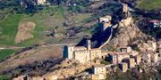 Det italienska sagoslottet kostar mindre att hyra än ett fyrstjärnigt hotellrum. Pressbild Roccascalegna