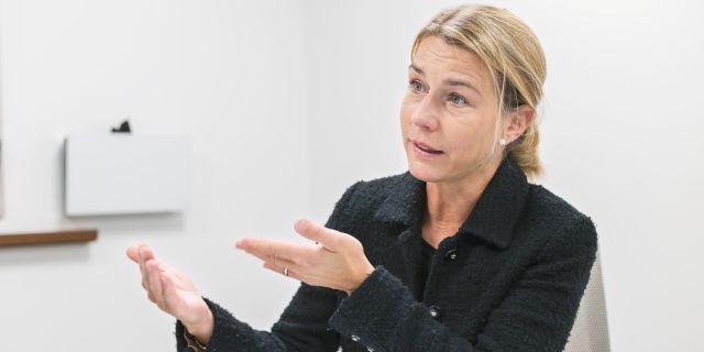 Arkivbild: Lena Sellgren, chefsekonom Business Sweden.  Veronica Johansson/SvD/TT / TT NYHETSBYRÅN