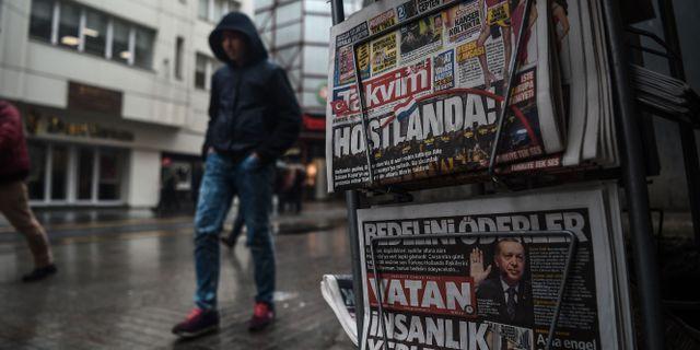 Rad mot medier i turkiet