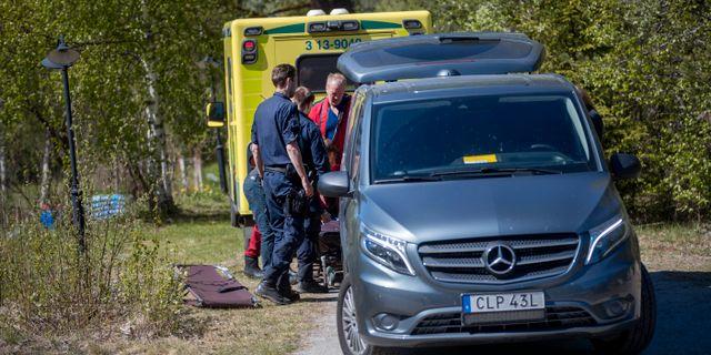 Olyckan inträffade i söndags. Mats Andersson / TT / TT NYHETSBYRÅN