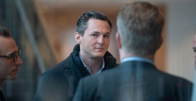 Alexander Ernstberger, vd för pensionsbolaget Allra. Sofia Ekström/SvD/TT / TT NYHETSBYRÅN