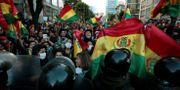 Demonstration i La Paz.  STRINGER / TT NYHETSBYRÅN