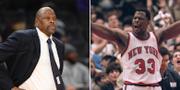 Patrick Ewing 2020 respektive 1997 (Arkivbild) TT