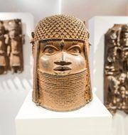 Konst från Västafrika. Daniel Bockwoldt / TT NYHETSBYRÅN