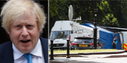 Boris Johnson/Brottsplatsen. TT