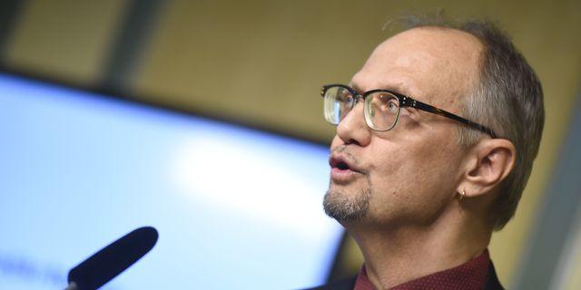 """Ulf Bjereld, förbundsordförande för """"Socialdemokrater för tro och solidaritet"""", samt S-märkt statsvetare. Hossein Salmanzadeh/TT / TT NYHETSBYRÅN"""