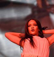 Rihanna uppträder på Tele2 arena i Stockholm 2016. Marcus Ericsson/TT / TT NYHETSBYRÅN
