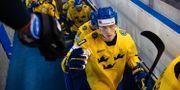 Elias Pettersson inför gårdagens match mot Finland.  JOEL MARKLUND / BILDBYRÅN