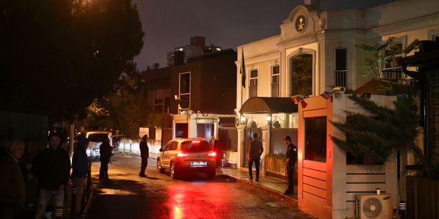 Saudiske konsuln hem i Istanbul.  Emrah Gurel / TT NYHETSBYRÅN/ NTB Scanpix